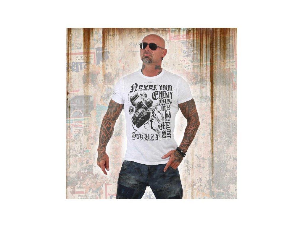 Yakuza tričko pánske MISTAKE TSB 12021 white