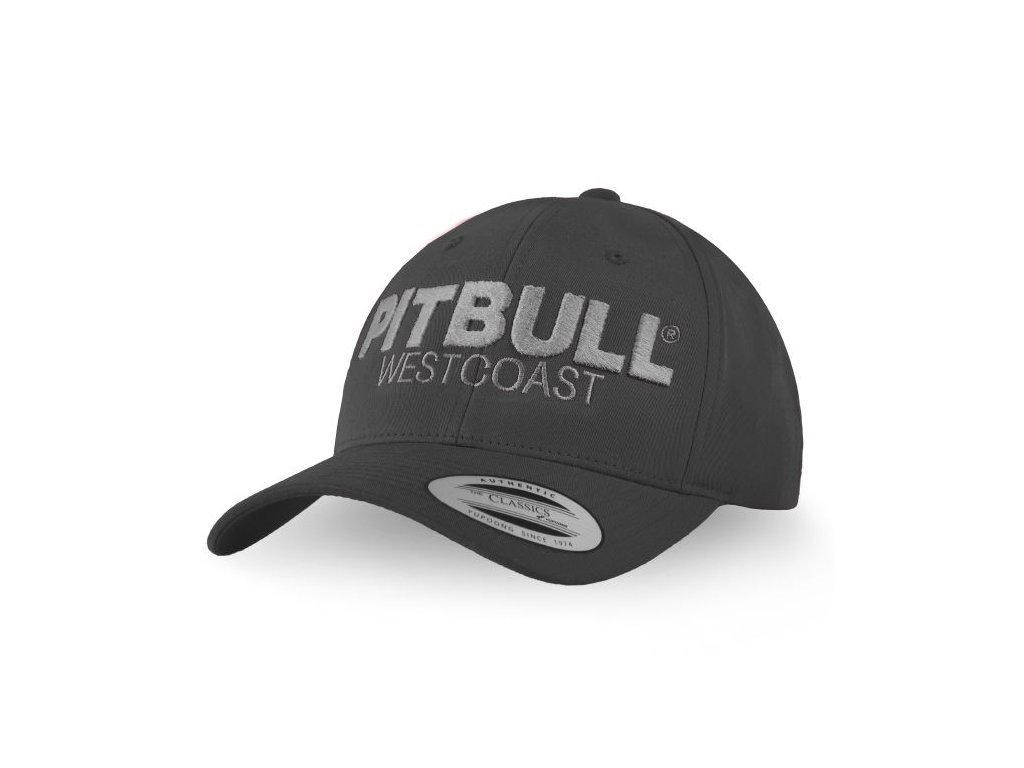 PitBull West Coast šiltovka CLASSIC TNT snapback charcoal