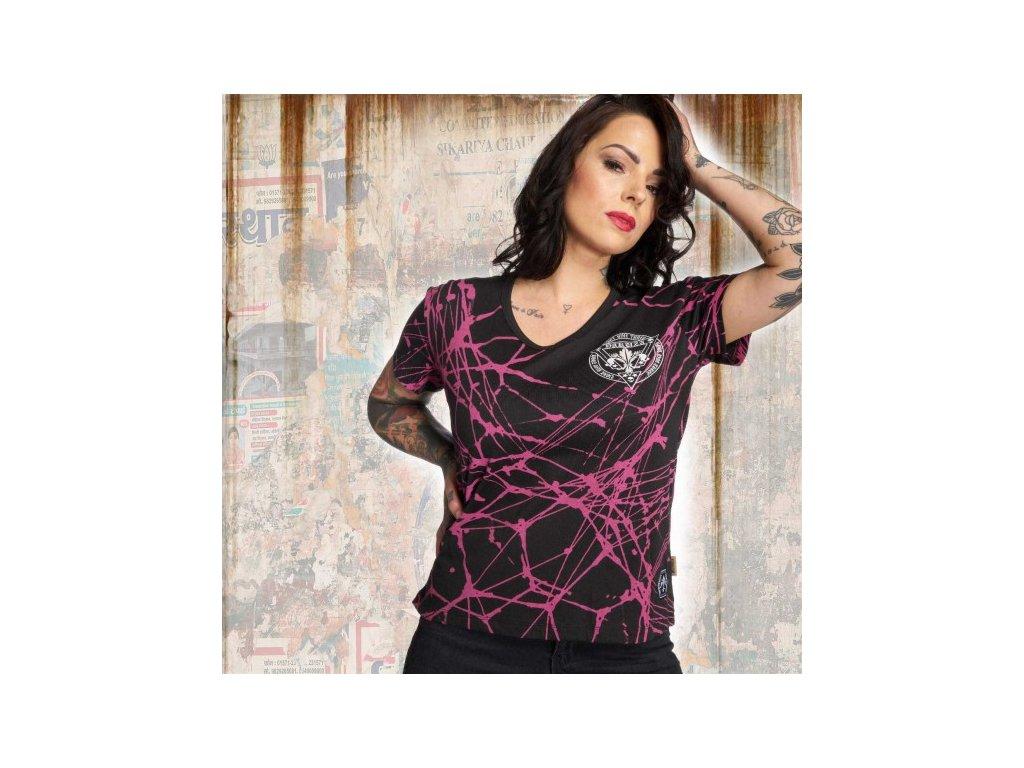 Yakuza STARDUST SPIDER dámske tričko GSB 12108 black