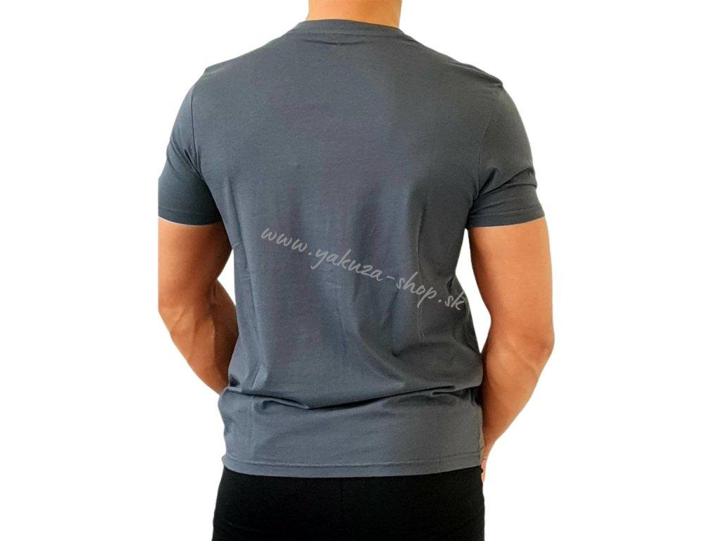 Alpha Industries Alpha Squad T greyblack tričko pánske