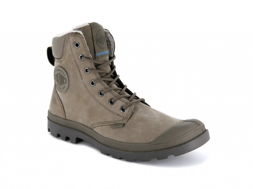 Palladium módne topánky PAMPA SPORT CUFF WPS DUST/FALCON