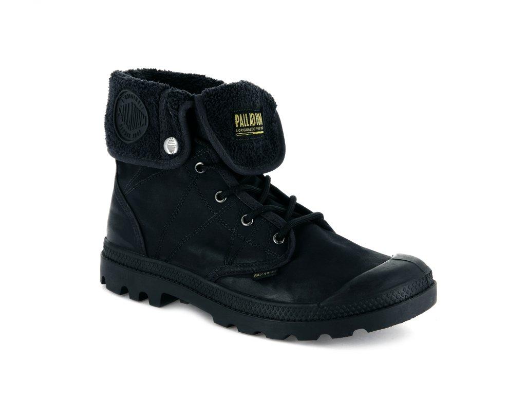 Palladium módne topánky PALLABROUSSE BAGGY TX ANTHRACITE/BLACK