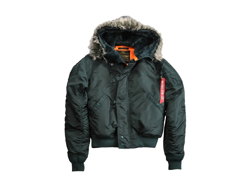 Alpha Industries zimná bunda N2B VF 59 dark petrol