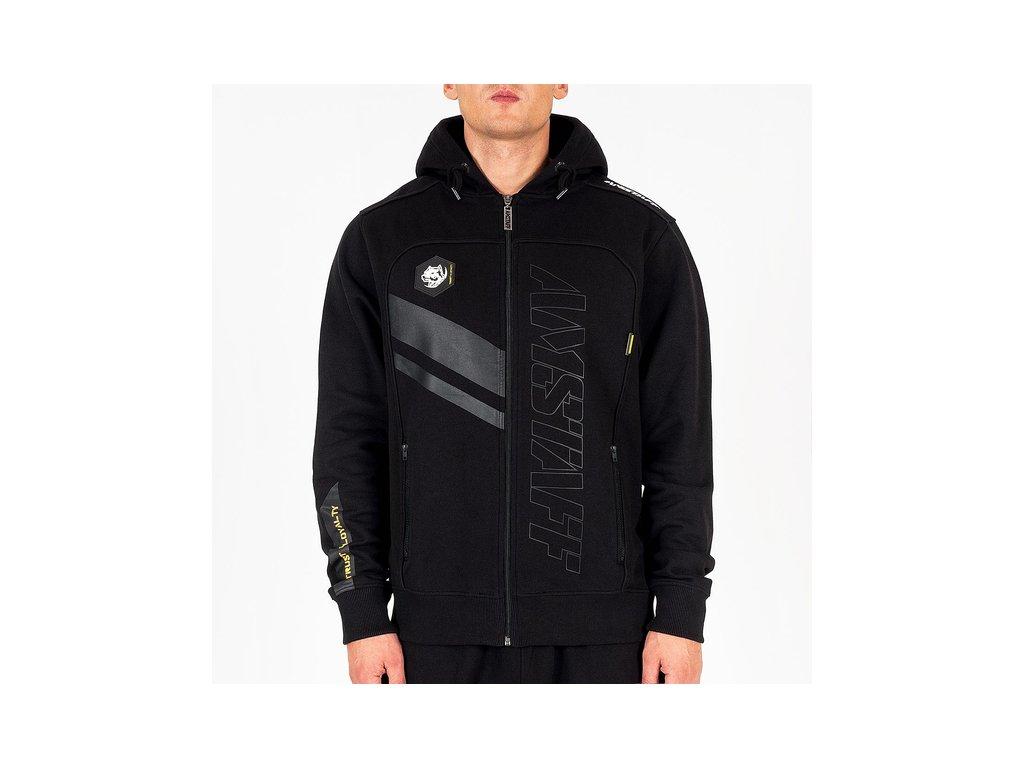 Amstaf mikina na zips PEDROS black