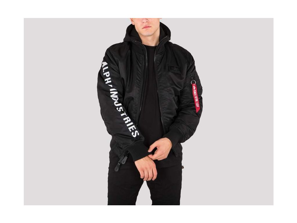 Alpha Industries zimnAlpha Industries zimná bunda MA-1 D-Tec SE black/reflective