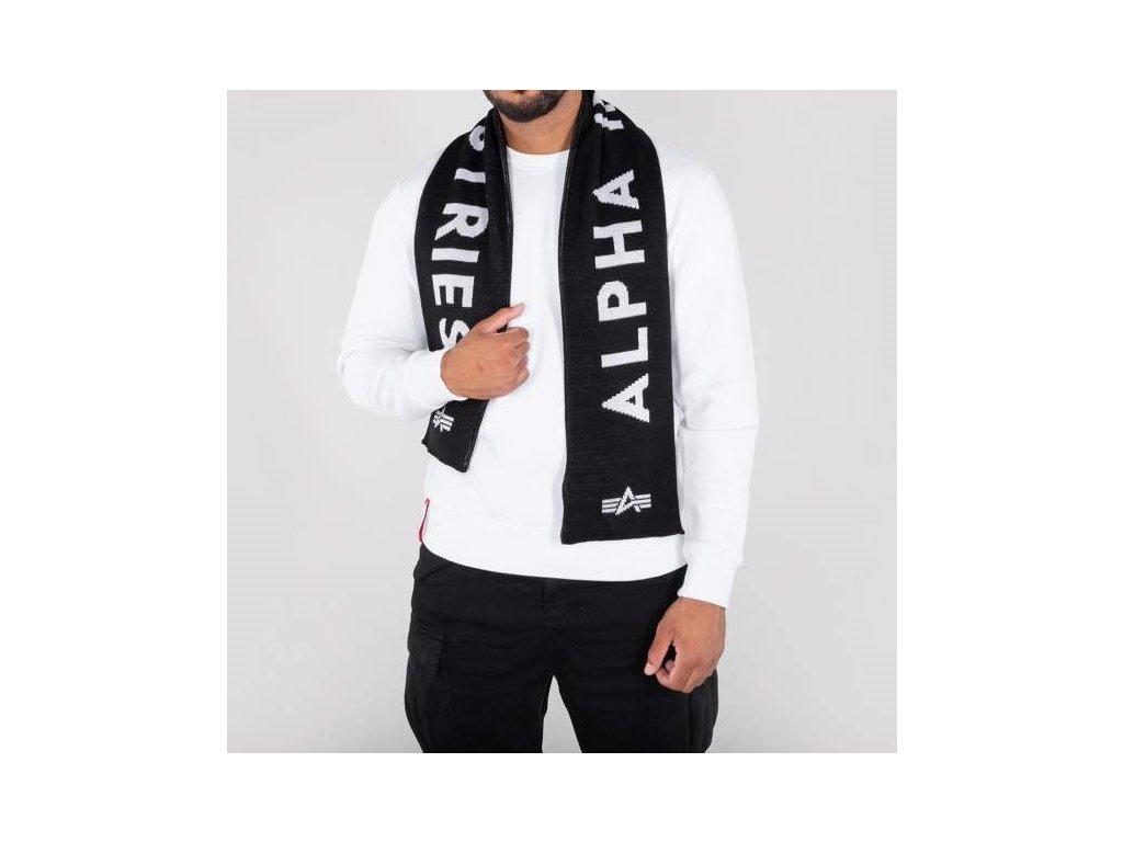 Alpha Industries šál Alpha Industries šál Alpha Industries Scarf black