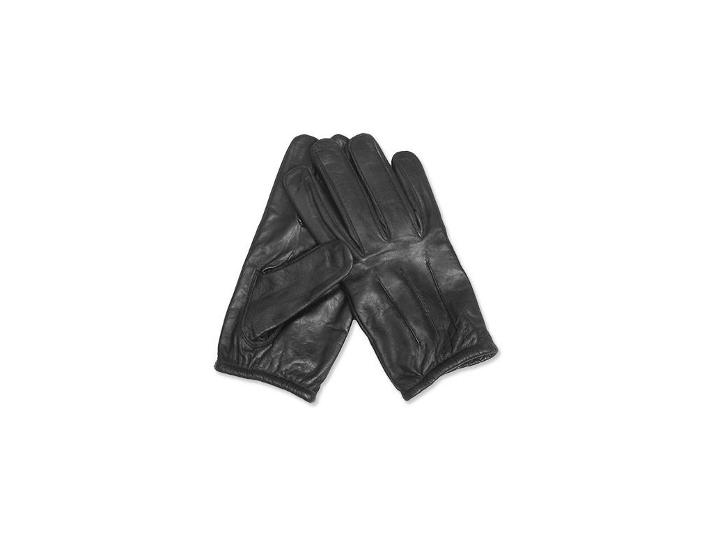 MILTEC kožené rukavice BLACK ARAMID GLOVES
