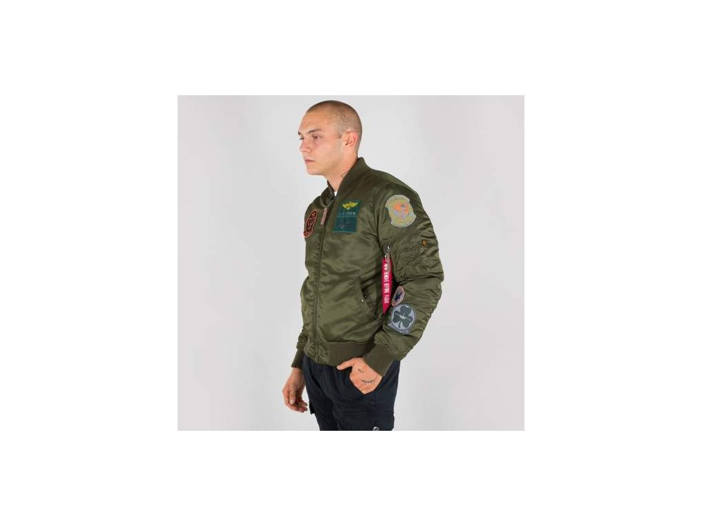 Alpha Industries MA-1 Pilot zimná bunda dark green
