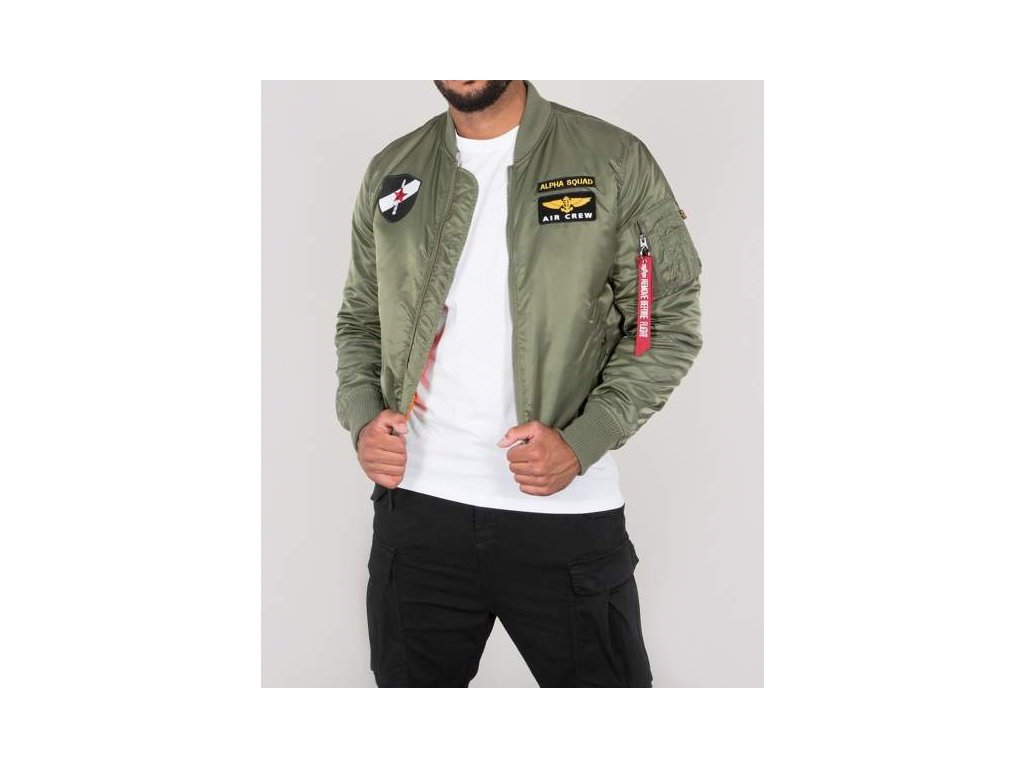 Alpha Industries MA-1 VF Custom zimná bunda black