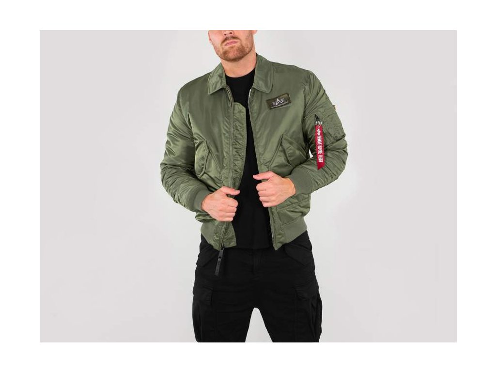 Alpha Industries CWU SF 59 zimná bunda sage green