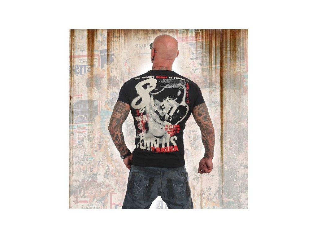 Yakuza tričko pánske JOIN USTSB 13041 black