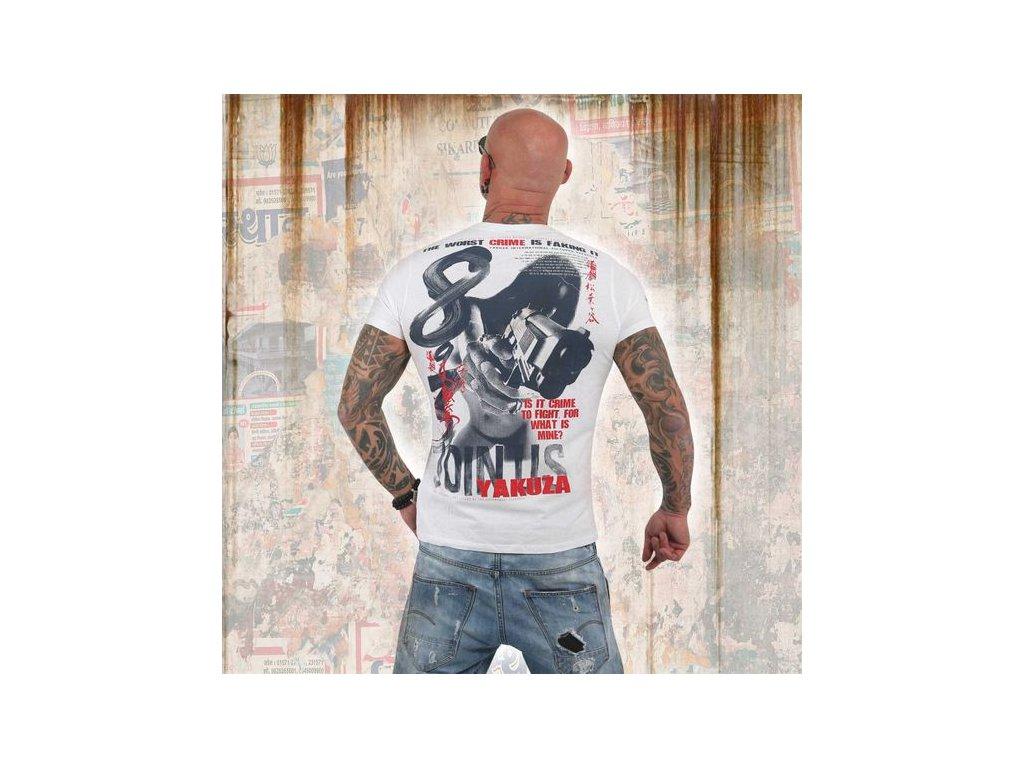 Yakuza tričko pánske JOIN USTSB 13041 white