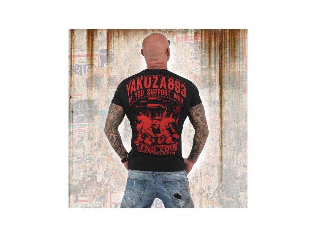 Yakuza tričko pánske SUPPORT? TSB 13042 black