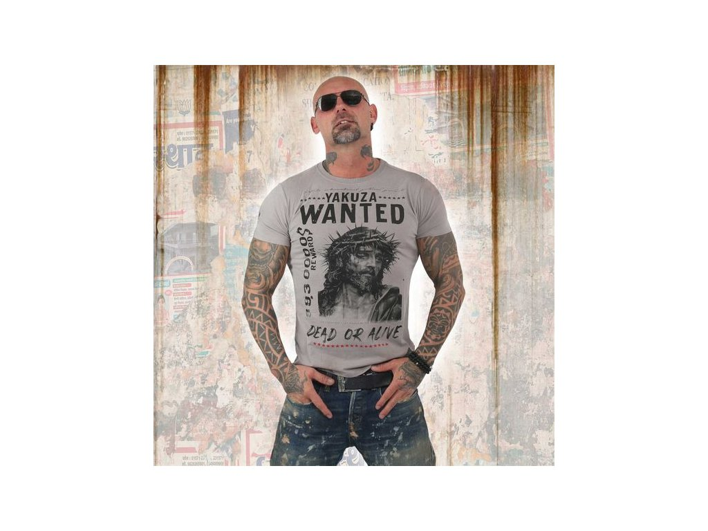 Yakuza tričko pánske PROFILETSB 13043 cloudburst