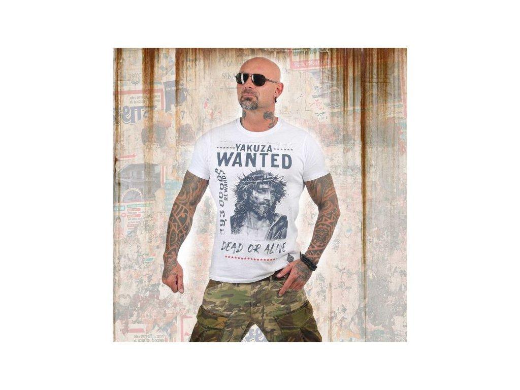 Yakuza tričko pánske PROFILETSB 13043 white