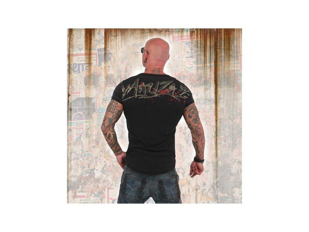 Yakuza BURNOUT TROPHY tričko pánske TSB 13051 black