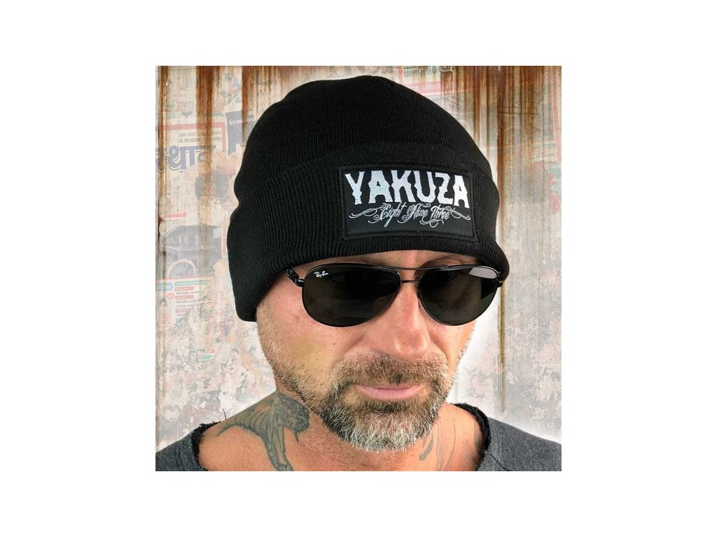 Yakuza čiapka CLAIM KNIT BEANIE YB 13304 black