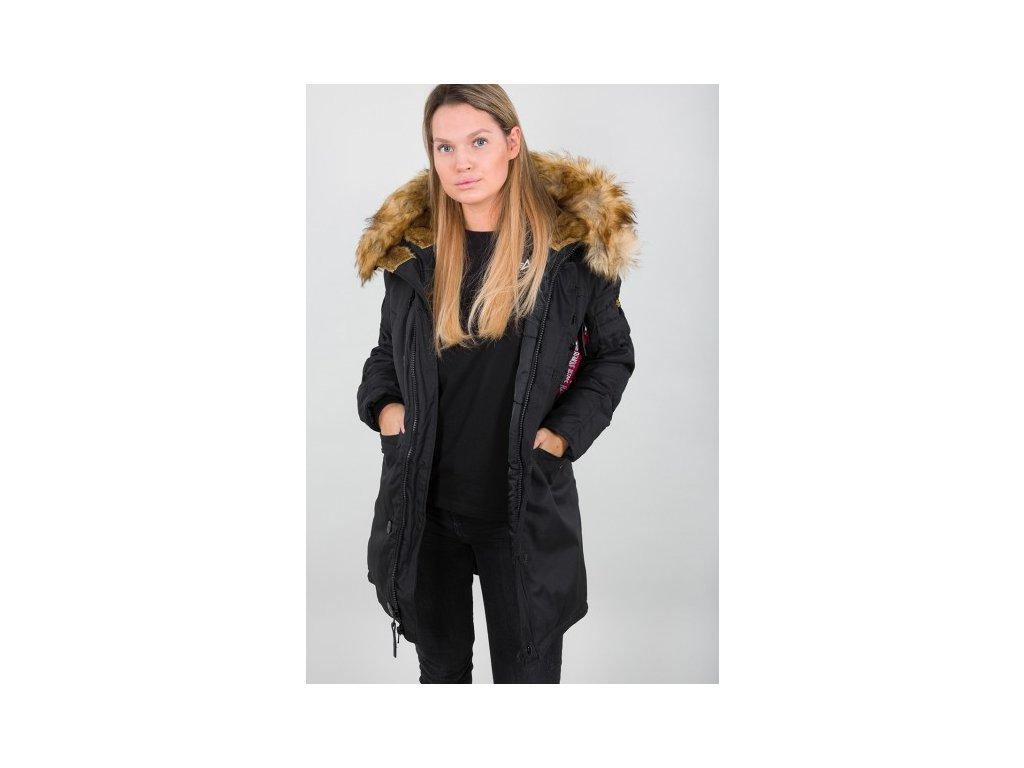 Alpha Industries Explorer Wmn dámska zimná bunda black
