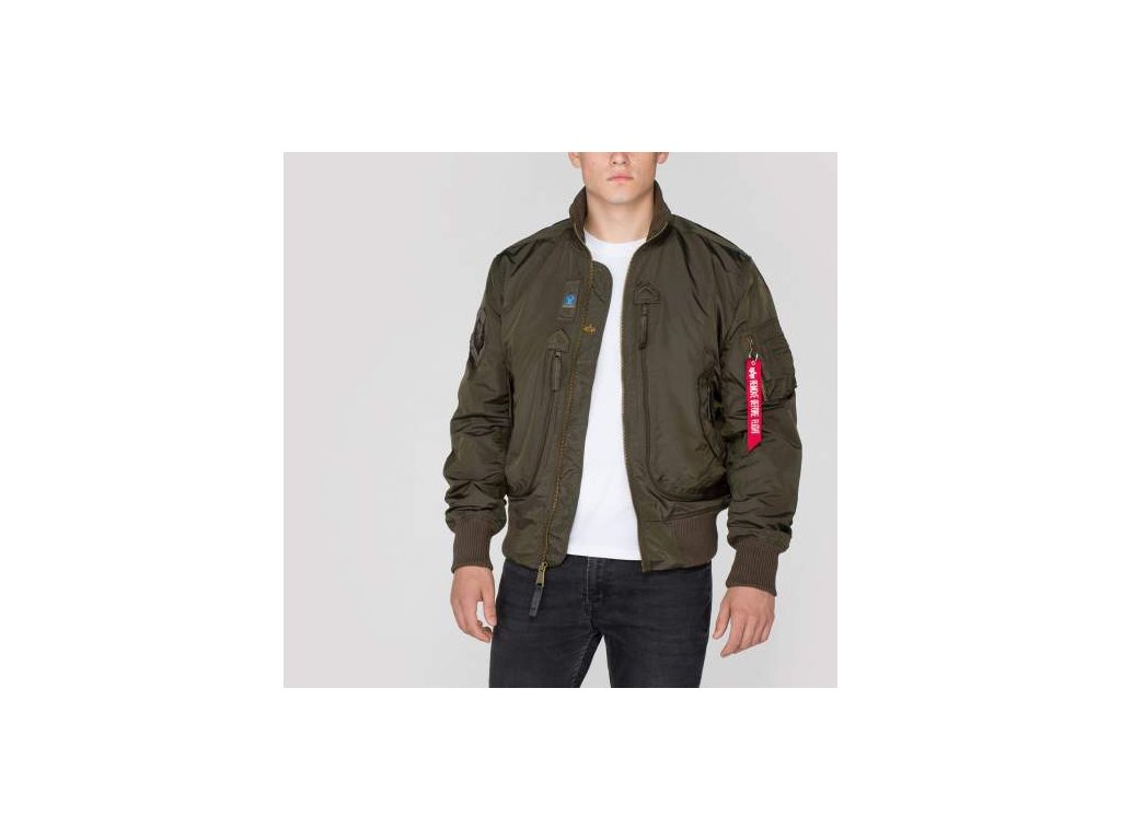 Alpha Industries Prop Jacket Rep. Grey bunda pánska