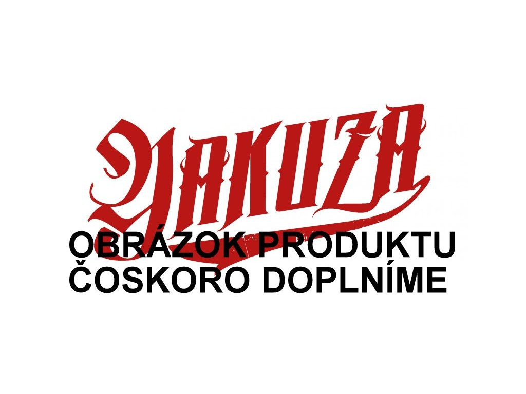 Yakuza ROSES dámska dlhá mikina na zips GLHZB 13110 white