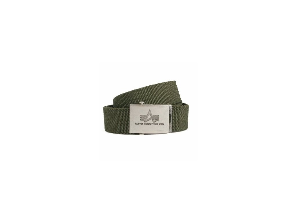 Alpha Industries Heavy Duty Belt 4 cm Olive opasok