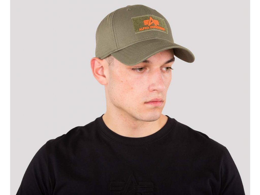 Alpha Alpha Industries VLC ll Cap šiltovka dark green