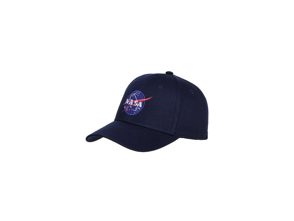Alpha Industries NASA Cap šiltovka navy