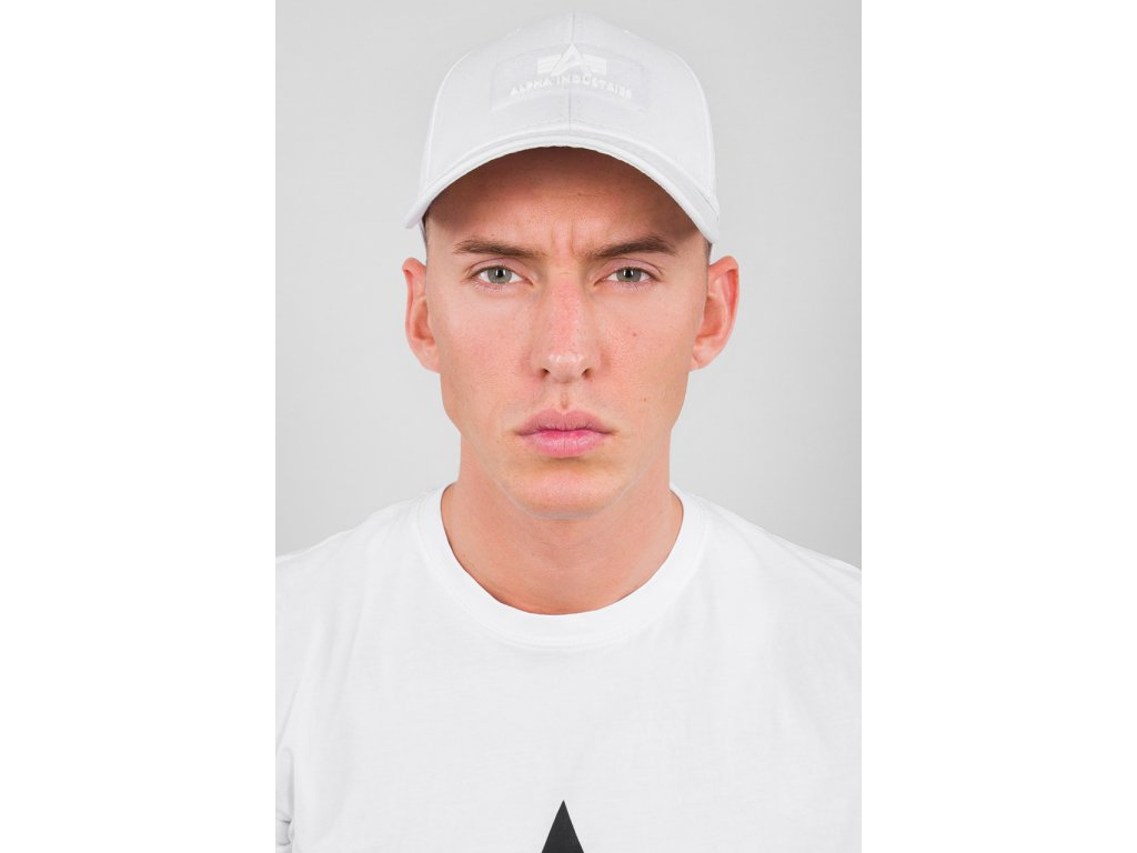 Alpha Industries VLC Cap white šiltovka