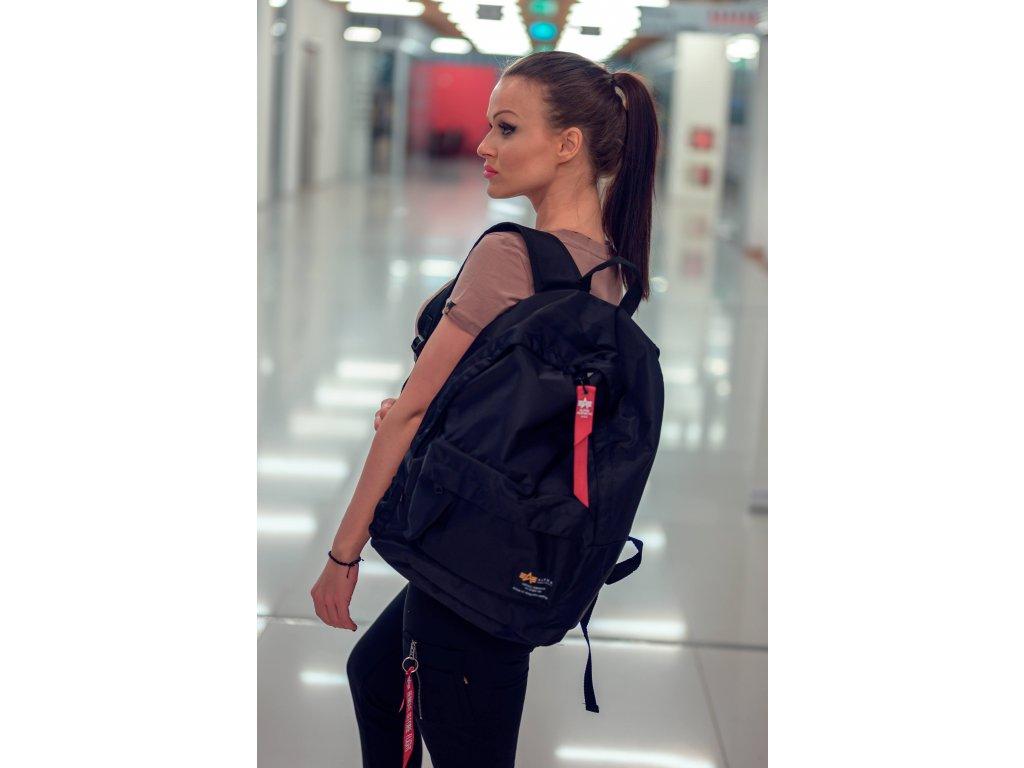 Alpha Industries Crew Backpack ruksak black