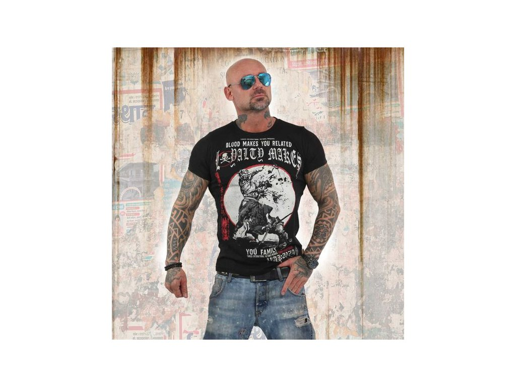 YakuzaLOYALITY tričko pánske TSB 13032 black