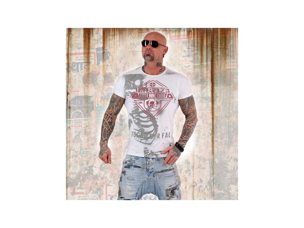 Yakuza XRAY tričko pánske TSB 13045 white