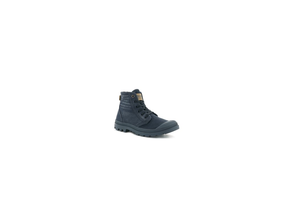 Palladium módne topánky PALLADENIM BLUE