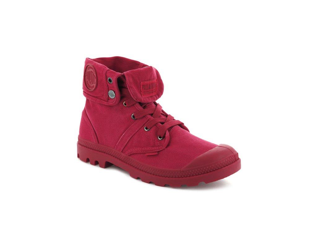 Palladium módne topánky PALLABROUSE BAGGY RED SALSA