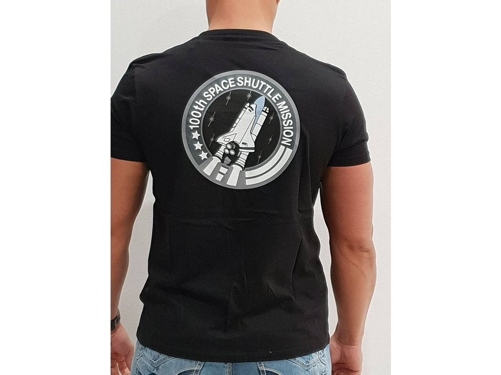 Alpha Industries Space Shuttle T tričko pánske black