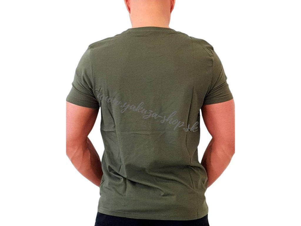 Alpha Industries Basic T-Shirt Dark Green tričko pánske