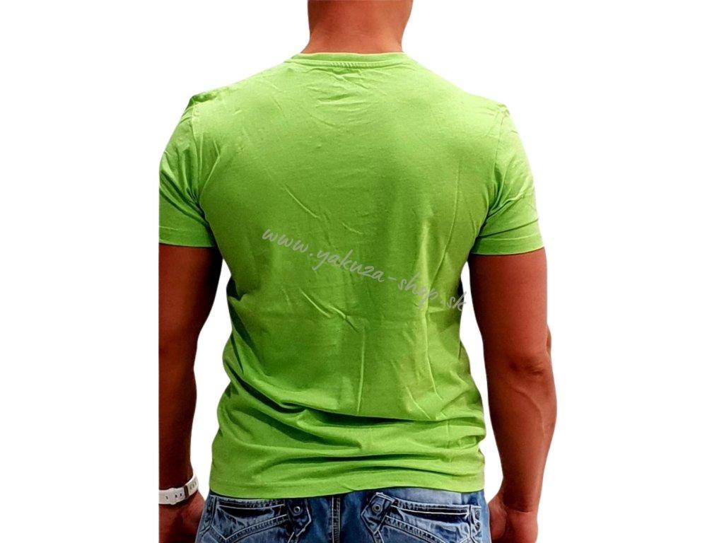 Alpha Industries Basic T-Shirt Bright Green tričko pánske