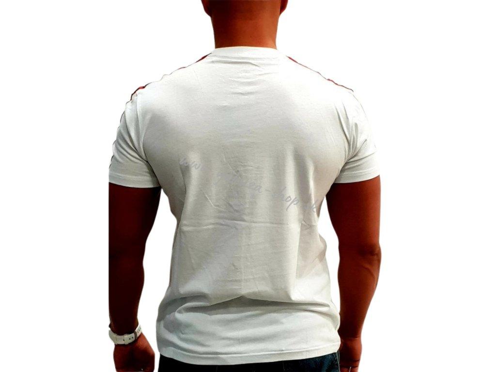Alpha Industries RBF Tape T White tričko pánske