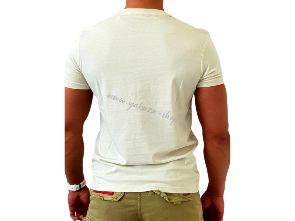Alpha Industries Skull T Vintage White tričko pánske