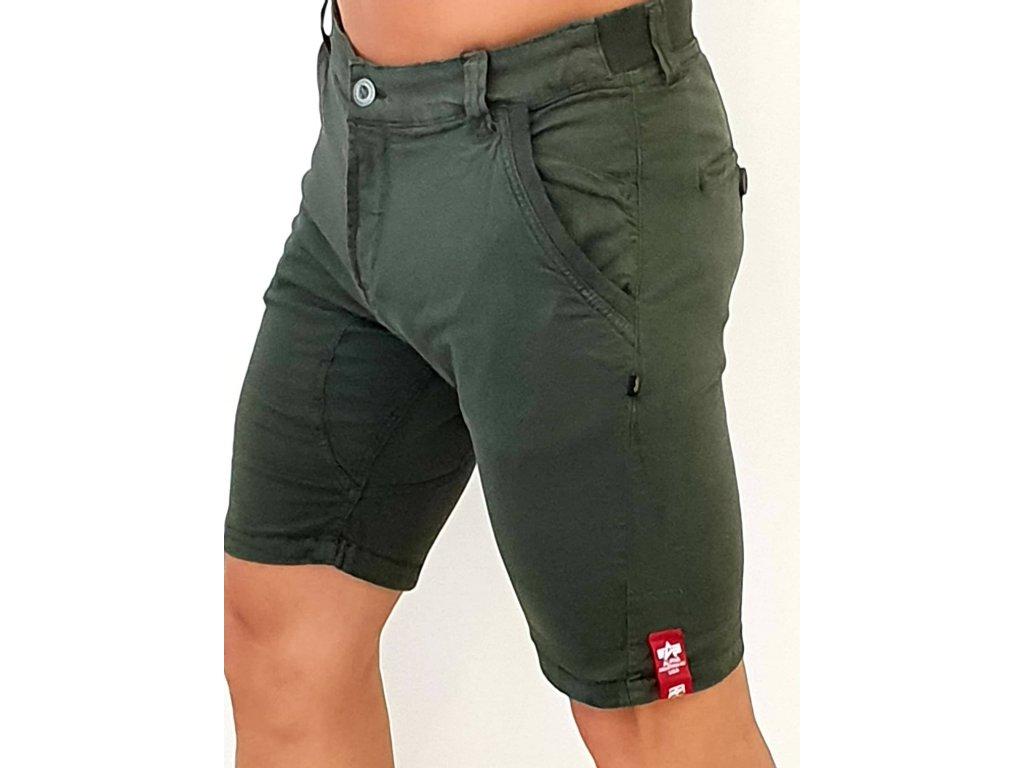Alpha Industries Kerosene Short pánske šortky greyblack