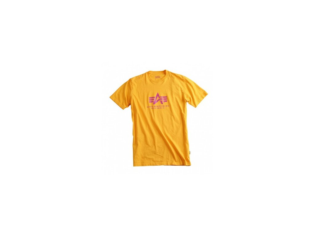 Alpha Industries Basic T-Shirt Yellow tričko pánske