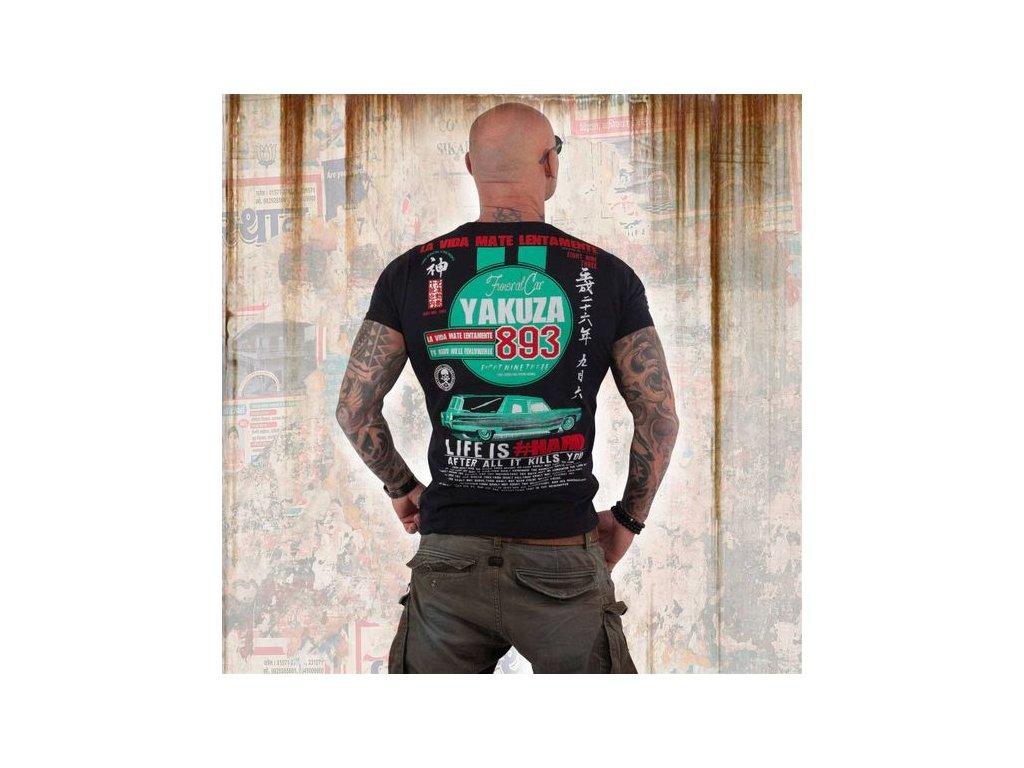 Yakuza MATE LENTAMENTE tričko pánske TSB 13033 Black