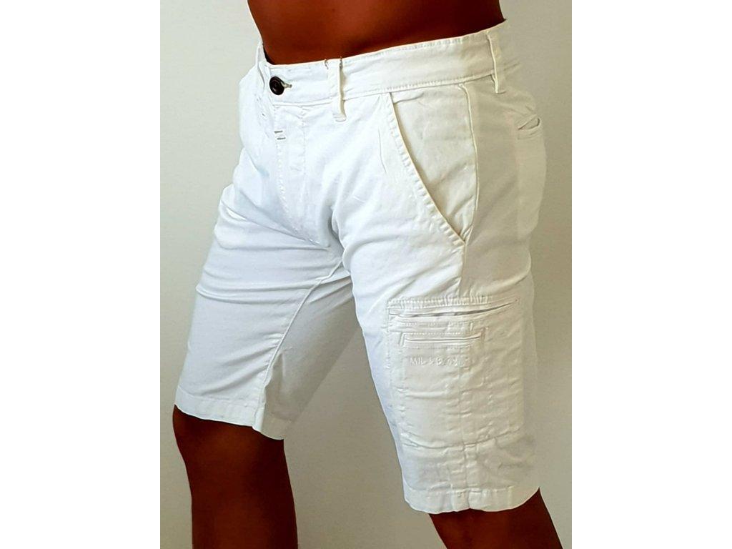 Alpha Industries Deck Short white pánske šortky