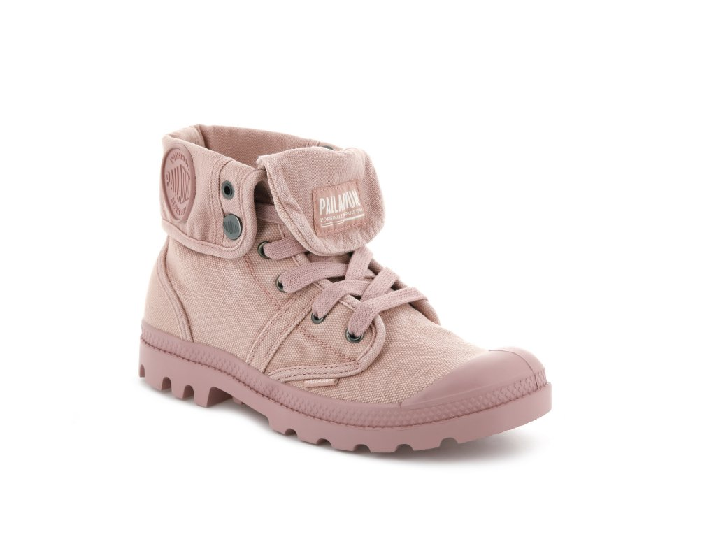 Palladium módne topánky WOMENS PALLABROUSSE BAGGY ROSE TAN
