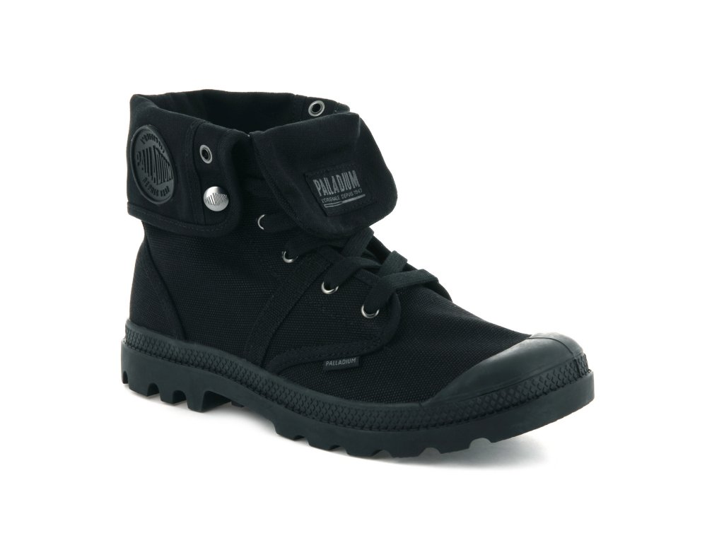 Palladium módne topánky PALLABROUSE BAGGY BLACK / BLACK