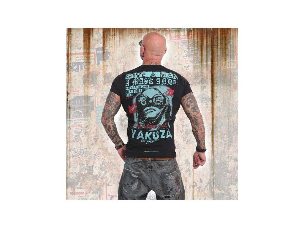 Yakuza FLY tričko pánske TSB 14057 black
