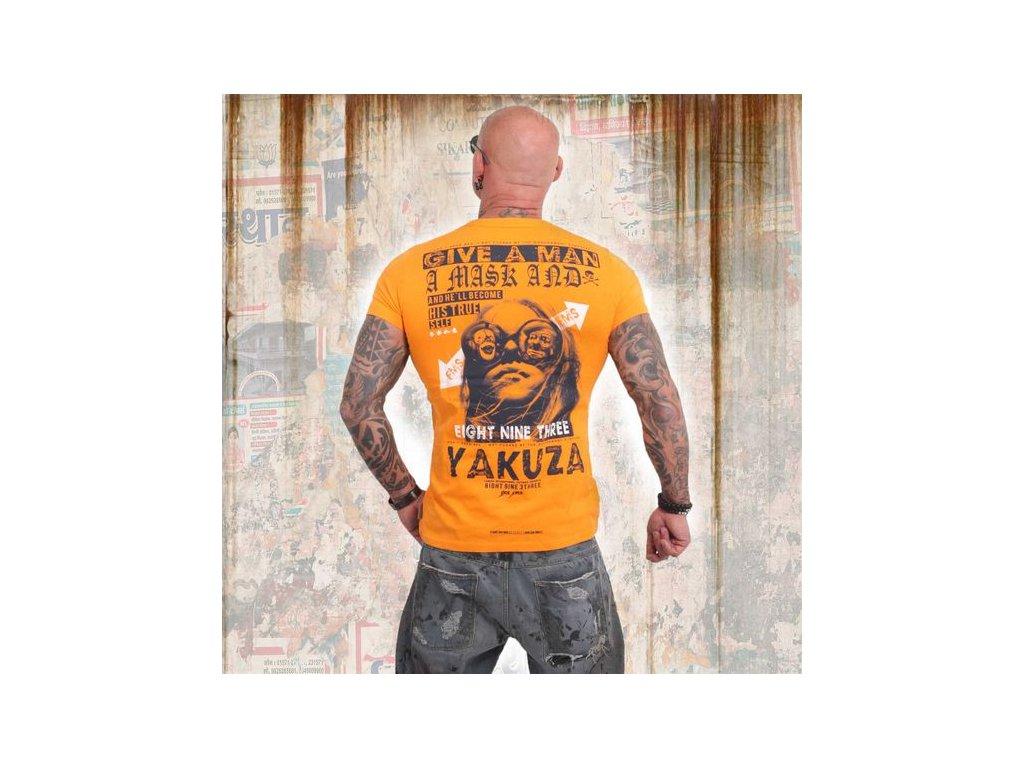 Yakuza FLY tričko pánske TSB 14057 autumn glory