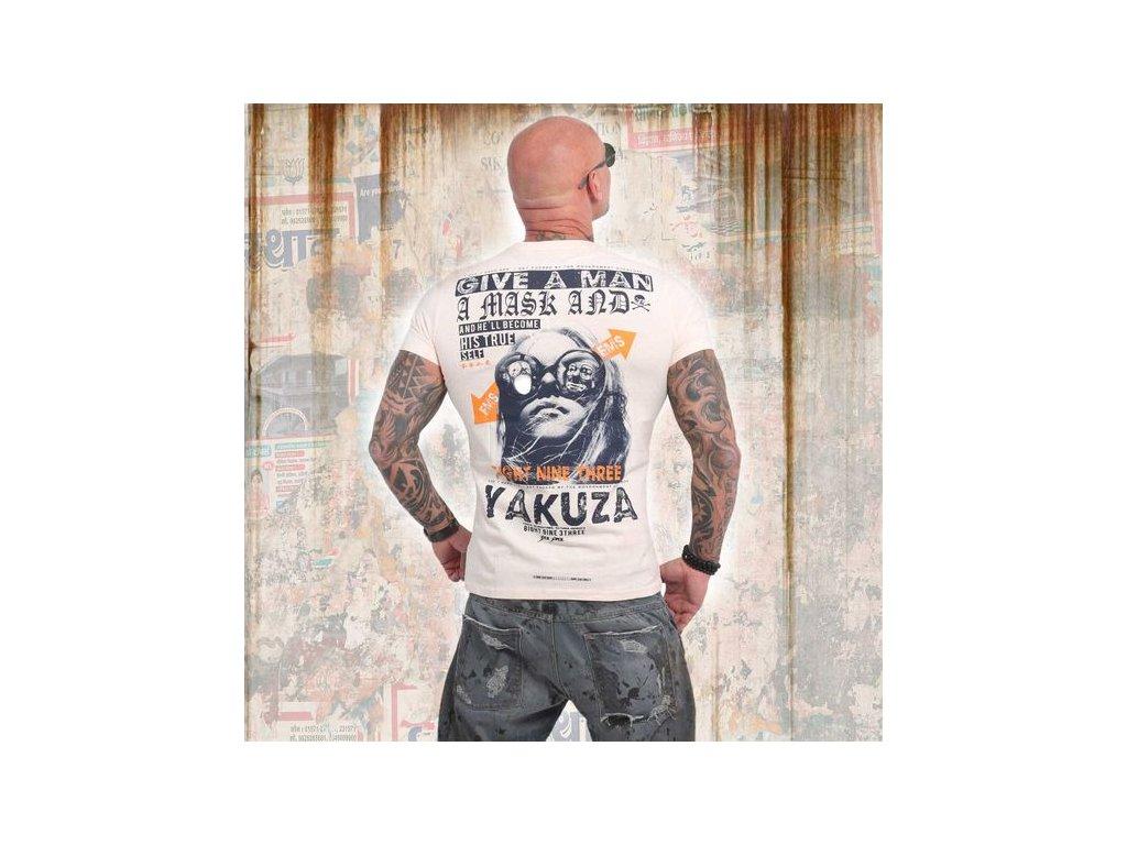 Yakuza FLY tričko pánske TSB 14057 dew