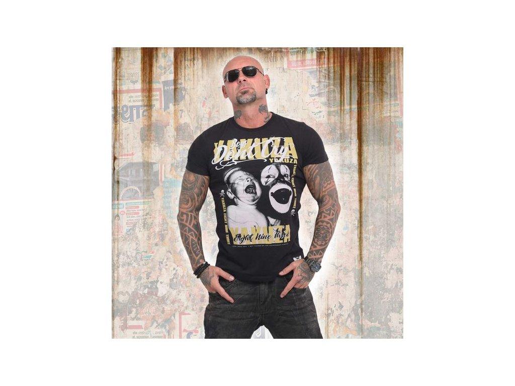 Yakuza BOYS DON´T CRY tričko pánske TSB 14056 black