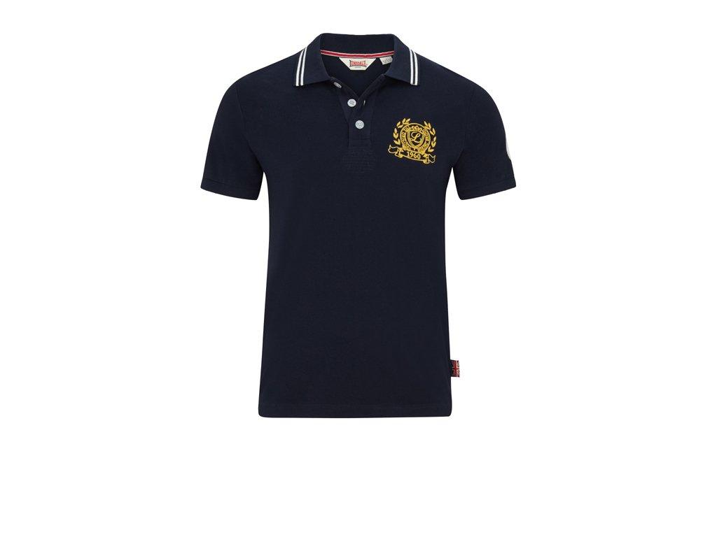 Lonsdale HUNTON Slim Fit Navy pánske polo tričko