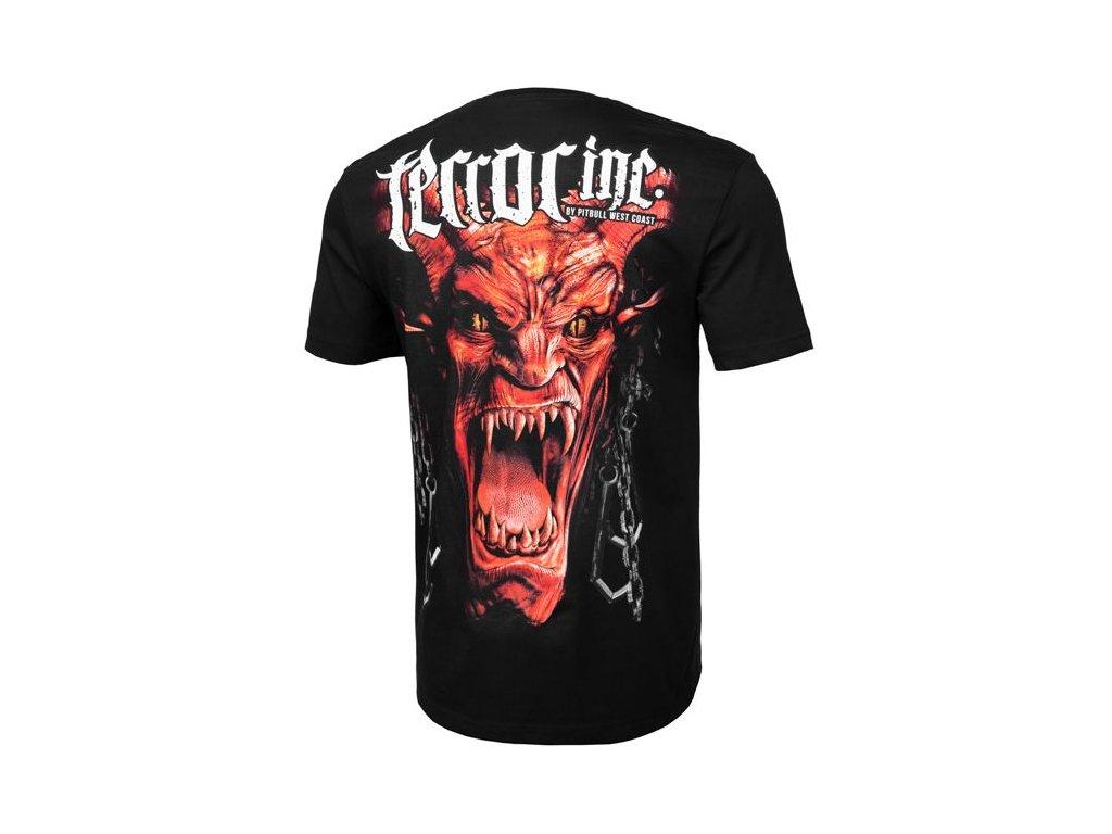 PitBull West Coast TERROR INC black tričko pánske